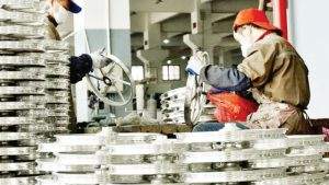 China's Manufacturing Activities Contract In December