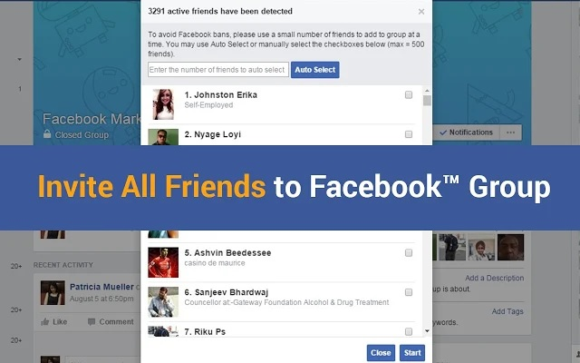 Add All Your Facebook Friends To Facebook Group