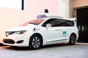 Self-Driving Minivans Of Waymo