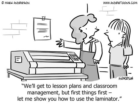 Because Laminator analysis can become a priority