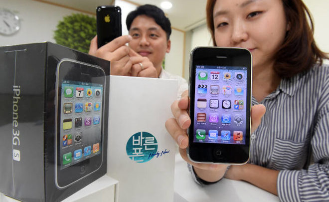 The Return Of Apple iPhone 3GS In South Korea