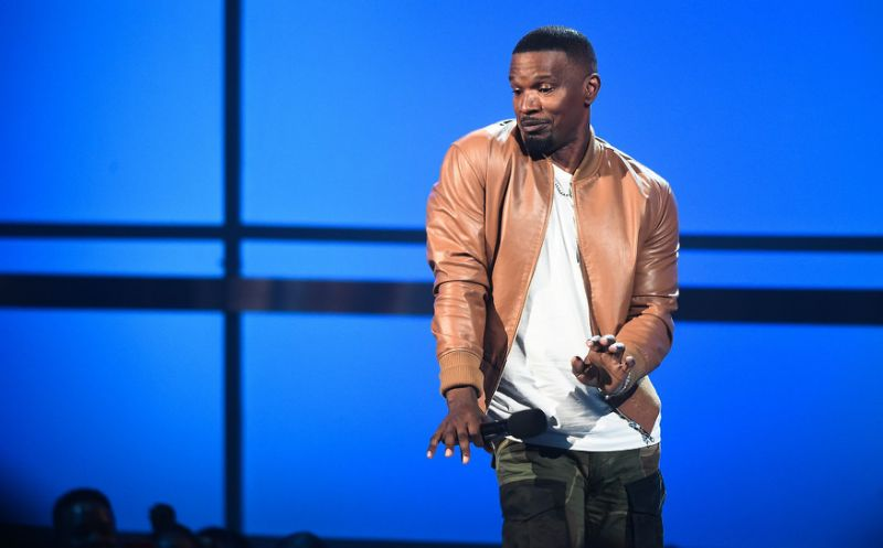 Jamie Foxx Went Out Of Way (Off-Script) To Acknowledge Donald Glover