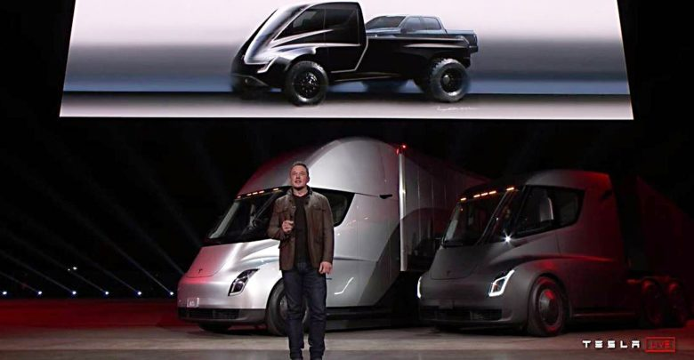 Pick Up Truck Of Tesla To Have Dual Motor AWD And Powerful Torque