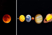 Moon Will Have Venus, Mercury, Mars, Jupiter, And Saturn As Company