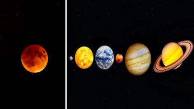 Moon Will Have Venus, Mercury, Mars, Jupiter, And Saturn As Company