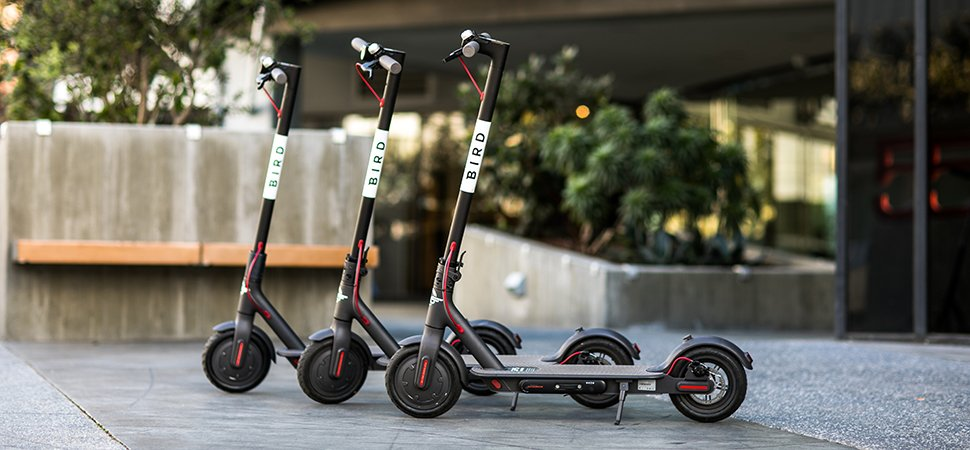Uber Launches Its First Electric Scooters In California