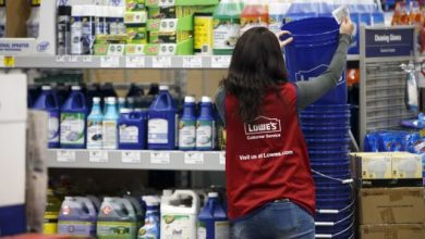 US Economy Sound Says Lowe's Post Mixed Reports