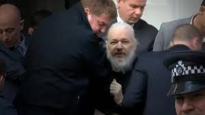 Assange Arrested In London, Charged For Computer Hacking Conspiracy By The US