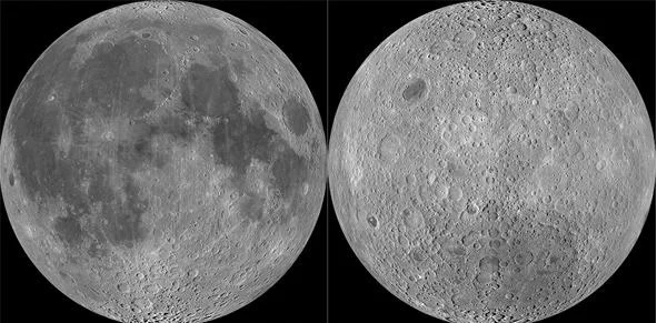 Difference Between Lunar Hemispheres