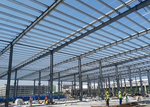 Steel Frame Is Popular For Construction Projects