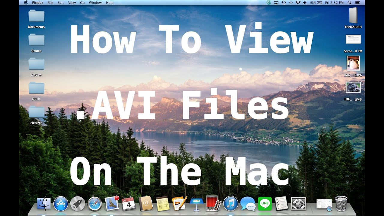 How to Play AVI on Mac