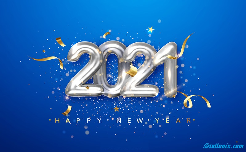 2021 Happy New Year Images for WhatsApp DP, GIF Images