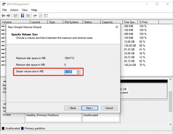 How to partition a hard drive in Windows 10-1