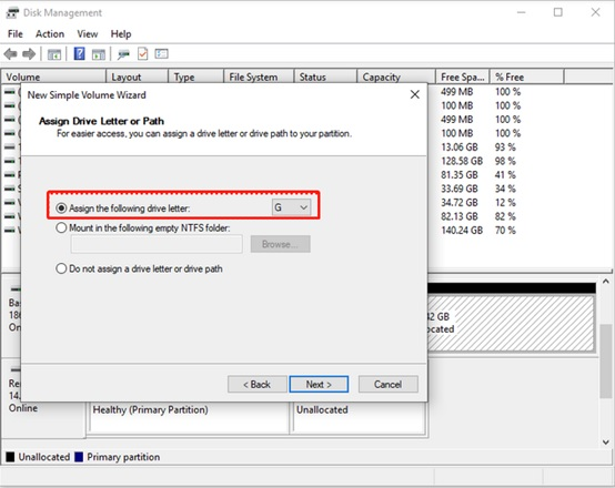 How to partition a hard drive in Windows 10-2