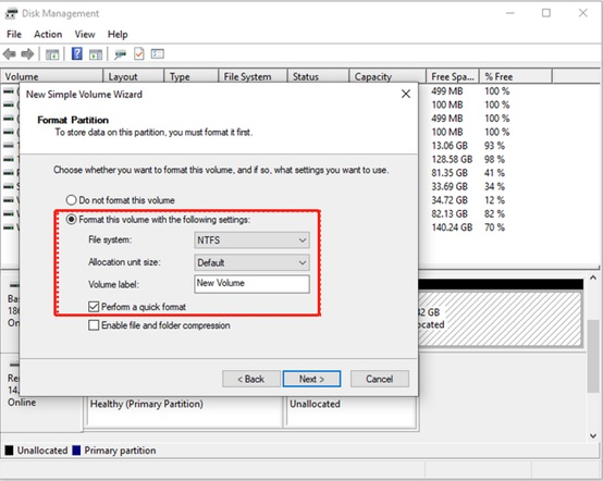 How to partition a hard drive in Windows 10-3